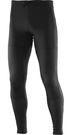 Salomon Park Warm Tights Men black/asphalt